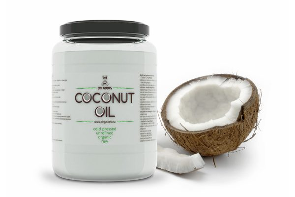 studio dreamtime coconut oil package design