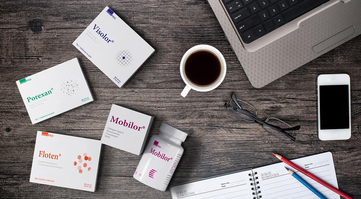 studio dreamtime supplements package design