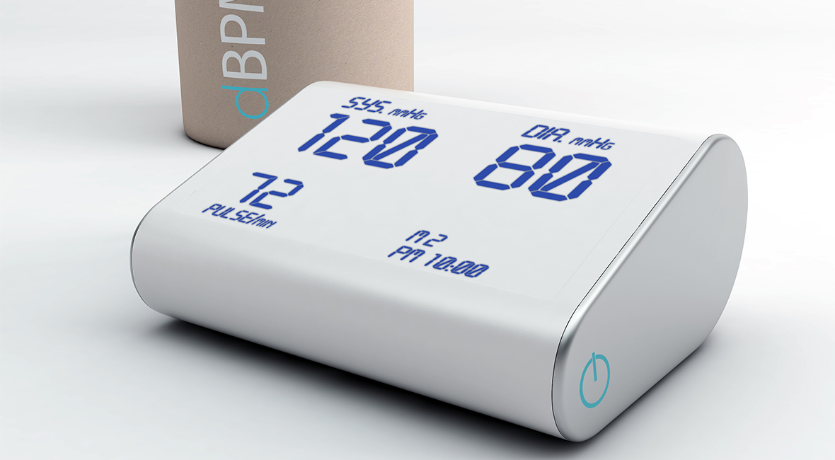 Design of blood pressure monitor