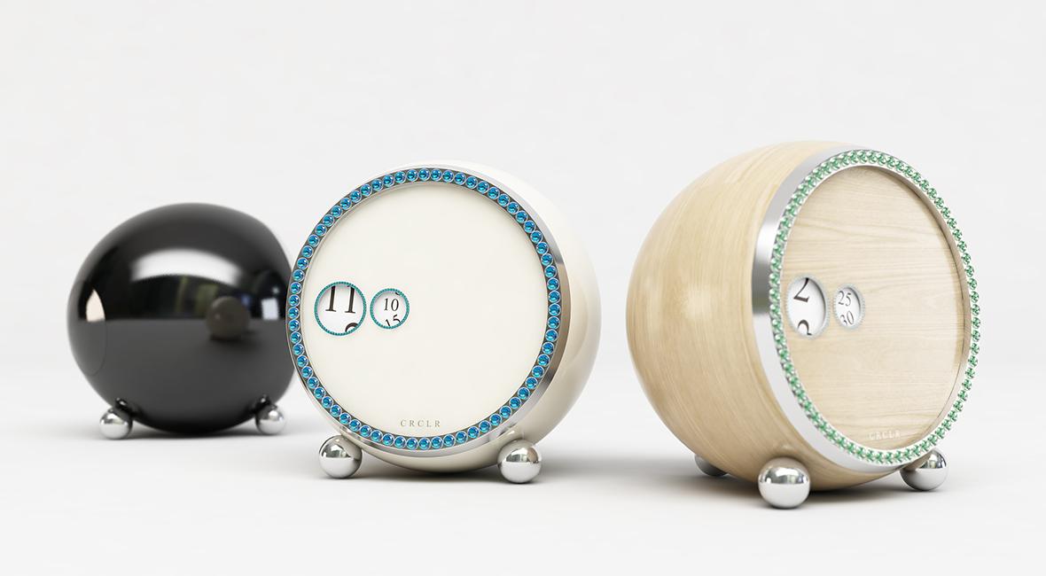 Clock Concept design by Studio Dreamtime