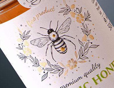 Дизайн на етикет за мед