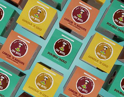 Дизайн на опаковки за веган сладки - Студио Дриймтайм