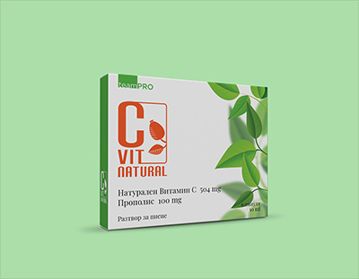 Дизайн на опаковка и лого дизайн - витамин С